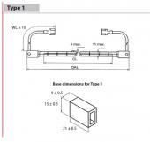 Lampi infrarosu Tip JHDS